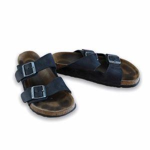 Birkenstock Arizona Soft Footbed in Suede Sandal